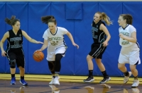 Gallery: Girls Basketball Evergreen Lutheran @ Northwest Yeshiva